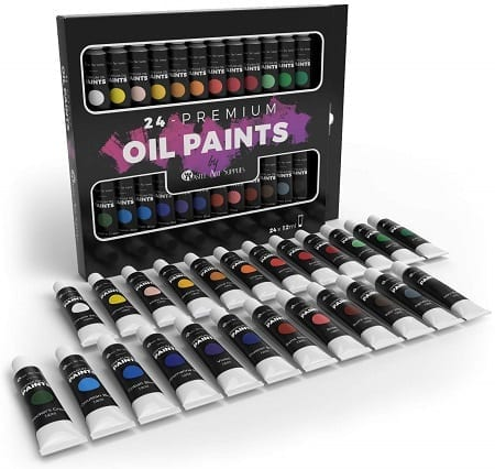 Castle Art Supplies Oil Paint Set Review