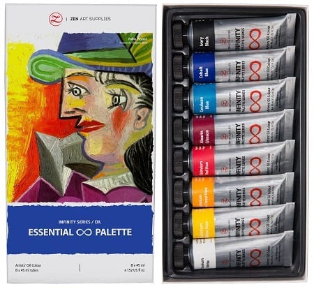 ZenART - Professional Oil Paints Set Review